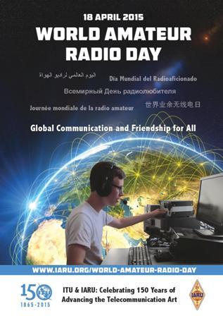 World amateur radio day 2016