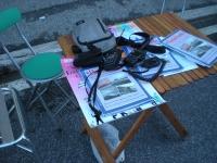 Postazione Radio della Festa del Volontariato a Pontedera 05.01.14.JPG