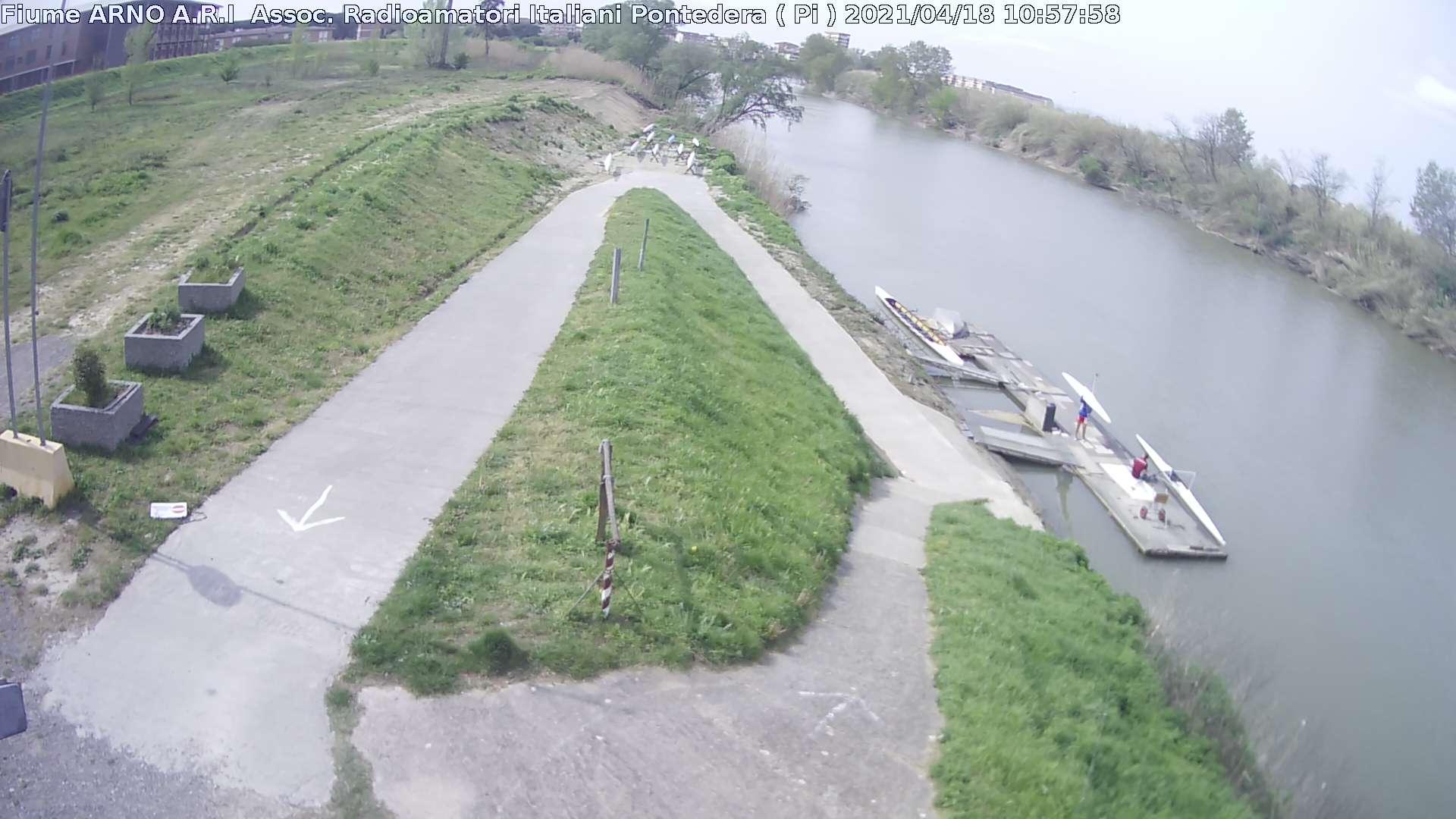 monitoraggio fiume Arno